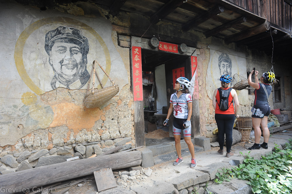 Chairman Mao ever  popular in Fujian.