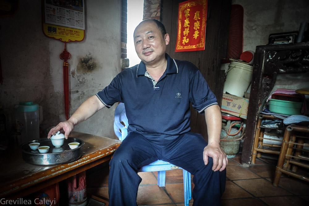 Kungfu tea master.
